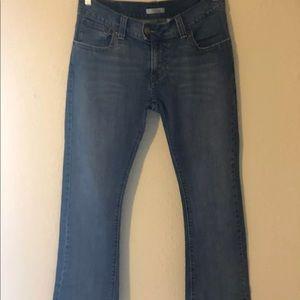 Levi's women's 542 Low Flare Denim Jeans 12M